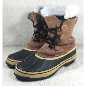 c571c1366bd Champion C9 Duck Boots Womens Brown Insulated Sz 6